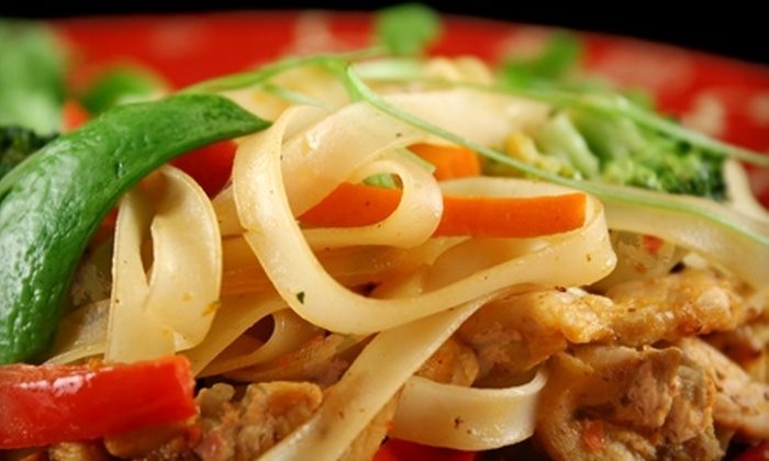 Noodle Bar - Lake Bluff: $10 for $20 Worth of Asian Cuisine at Noodle Bar in Lake Bluff