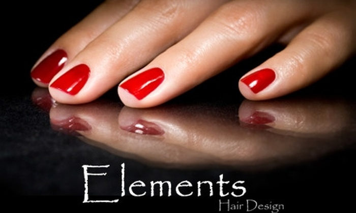 Elements Hair Design - Plainfield: $20 for a Mani-Pedi at Elements Hair Design ($50 Value)