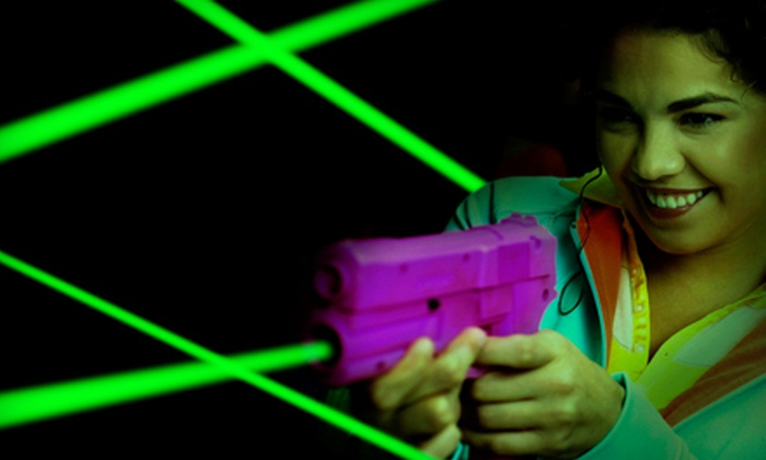 Laser Chaos - Bellevue: Four or Eight Games of Laser Tag at Laser Chaos (Half Off)