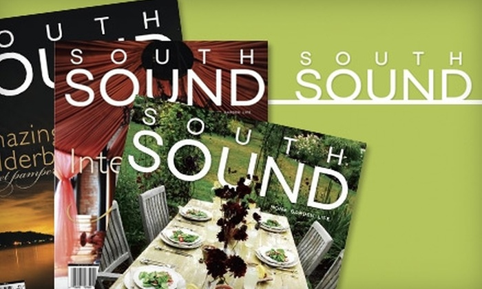 """South Sound"" Magazine - Seattle: $8 for a One-Year Subscription to ""South Sound"" Magazine and a $30 Gift Card to SAVI Day Spa ($60 Total Value)"