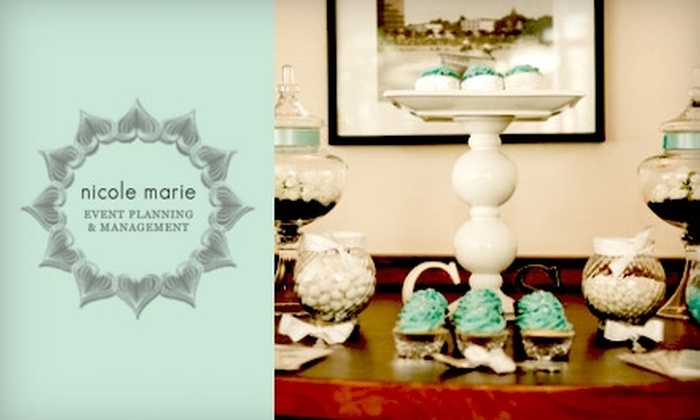 Nicole Marie Events - Vancouver: $50 for a Customized Basic Candy Buffet from Nicole Marie Events ($100 Value)