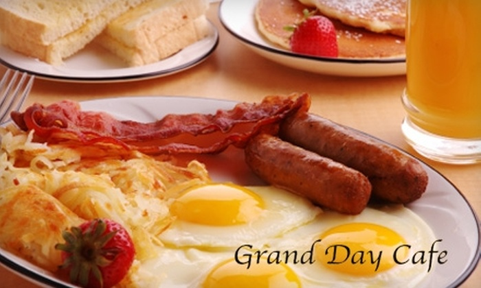 Grand Day Cafe - Grandview Heights: $5 for $10 Worth of Café Fare at Grand Day Cafe