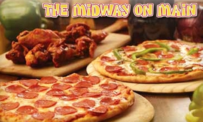 The Midway on Main - Youngstown: $7 for $15 Worth of Carnival-Themed Fare and Drinks at The Midway on Main