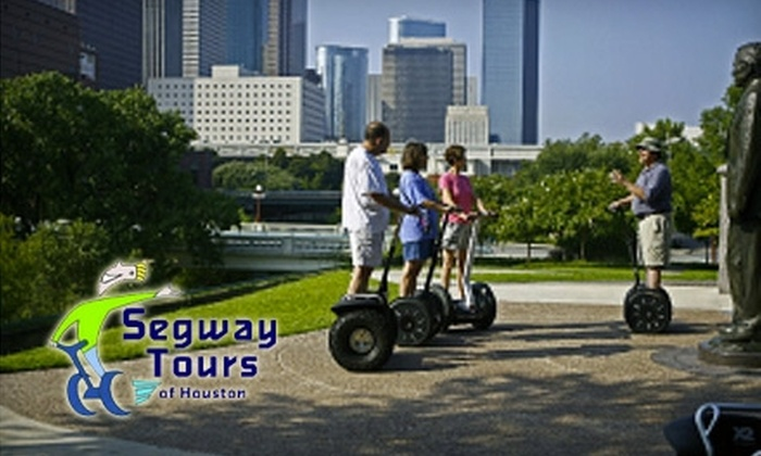 Segway Tours of Houston - Downtown: $35 for Two-Hour Segway Tour of Buffalo Bayou from Segway Tours of Houston ($70 Value)