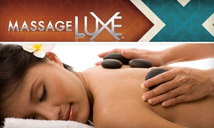 MassageLuxe - Multiple Locations: $30 for a 15-Minute HydroLuxe Massage and Your Choice of a One-Hour Swedish, Deep-Tissue, or Prenatal Massage at MassageLuxe