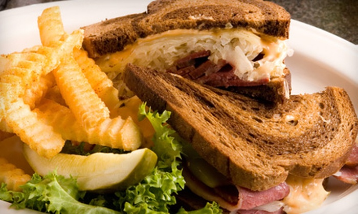 Main Street Brasserie - Woodmore: $10 for Sandwiches and Drinks for Two at Main Street Brasserie (Up to $21.68 Value)