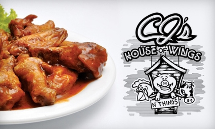 CJ's House of Wings - Pottstown: $10 for $20 Worth of Wings and More at CJ's House of Wings in Pottstown