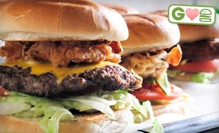 $14 Groupon to Burger Rush - Burger Rush in Oklahoma City