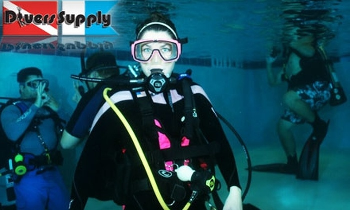 Divers Supply - Marietta: $10 for an Intro to Scuba Diving Class at Divers Supply in Marietta ($50 Value)