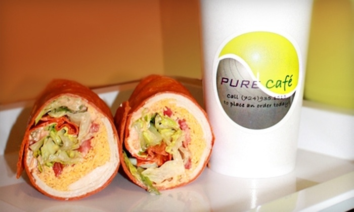 Pure Cafe - Pittsburgh: $7 for $14 Worth of Smoothies, Wraps, and More at Pure Cafe