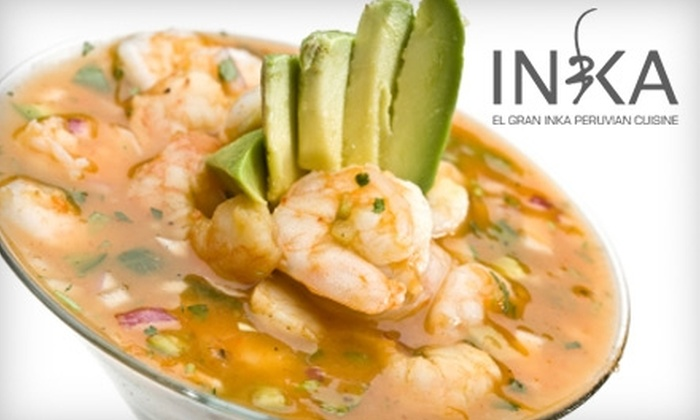 El Gran Inka Peruvian Cuisine - Eastern Shores: $20 for $40 Worth of Peruvian Fare and Drinks at El Gran Inka Peruvian Cuisine