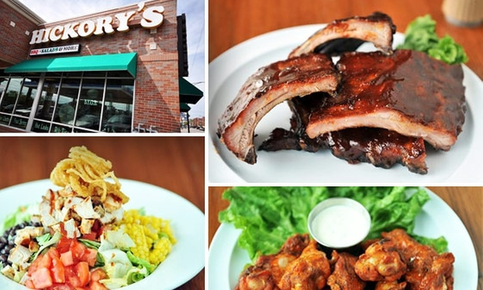 Hickory's BBQ - Near North Side: $6 for $20 Worth of Yummy at Hickory's BBQ