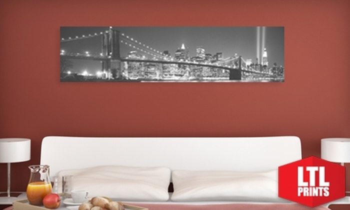 "Larger Than Life Prints: $35 for a ""Big Wall Graphic"" Panoramic Wall Mural from LTL Prints ($86 Value)"