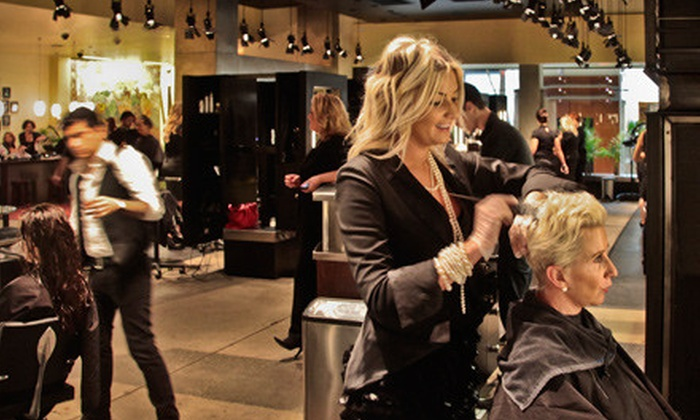 Chelsea Malmquist with Seven Salon - Downtown Bellevue: Haircare Package with Haircut and Full-Foil Highlights or Shampoo, Conditioner, and Seal at Seven Salon in Bellevue (Up to 53% Off)