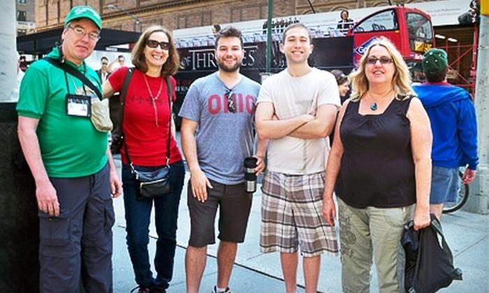 NYC GoGreen Tours - Multiple Locations: Two-Hour Walking Tour from NYC GoGreen Tours. Six Tours Available.