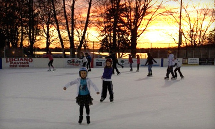 Westport PAL Rink - Compo – Owenoke Historic District: $15 for Ice-Skating Outing for Two at Westport PAL Rink (Up to $30 Value)