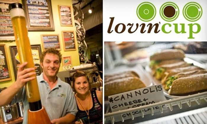 Lovin' Cup - Henrietta: $10 for $20 Worth of Burgers, Brews, and More at Lovin' Cup