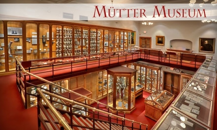 Mütter Museum of The College of Physicians of Philadelphia - Center City West: Membership to the Mütter Museum of The College of Physicians of Philadelphia. Choose from Two Options.