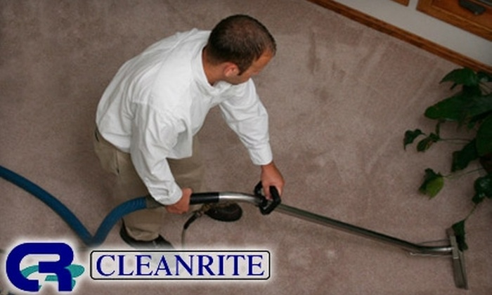 CleanRite Regina - Near North Side: $49 for a Two-Room Economy Carpet Cleaning Package from Cleanrite Regina