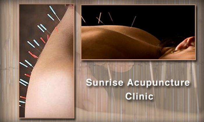 Sunrise Acupuncture Clinic - Rockville: $50 Consultation and Treatment at Sunrise Acupuncture Clinic ($125 Value)