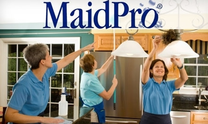 MaidPro - Sacramento: $60 for Up to Three Hours of Home Cleaning from MaidPro