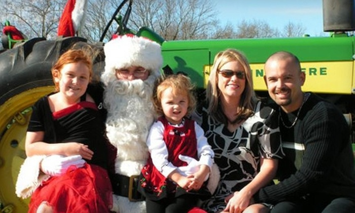 The Harris Farm - 1, Harrisburg: $10 for Two Tickets to Santa's SleigHAY Ride at The Harris Farm ($20 Value)