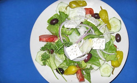 $20 Groupon to Psistaria Greek Taverna - Psistaria Greek Taverna in Lincolnwood