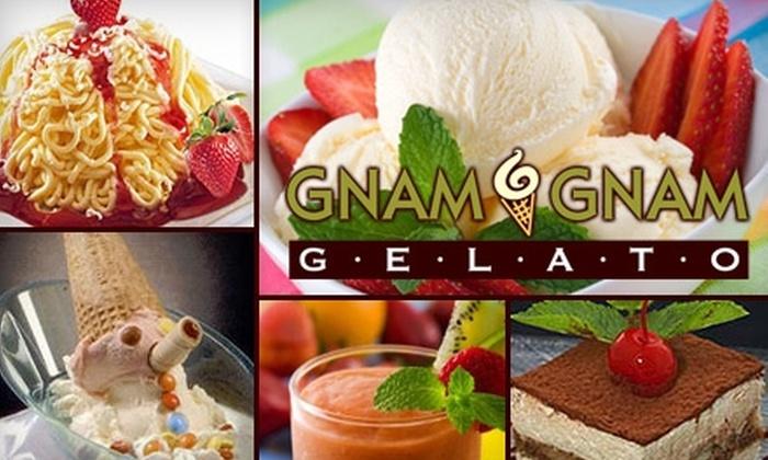 Gnam Gnam Gelato - Greensboro: $5 for $12 Worth of Gelato and More at Gnam Gnam Gelato