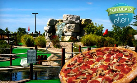 Ben and Ari's: Mini Golf Package for 4 (up to a $40.74 value) - Ben and Ari's in Fishers