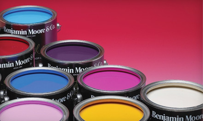 Benjamin Moore - Multiple Locations: $25 for $50 Worth of Paint and Supplies from Benjamin Moore