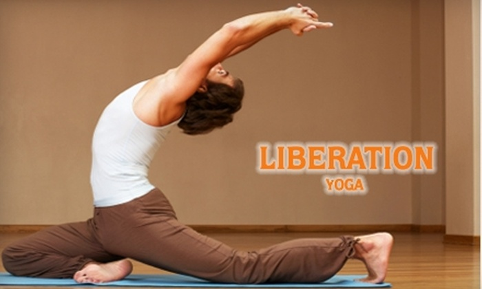 Liberation Yoga - Mid-Wilshire: $50 for 10 Classes at Liberation Yoga ($105 Value)