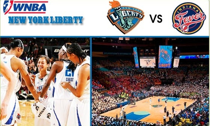 Madison Square Garden - New York City: $22 Tickets to New York Liberty on June 26 ($44 Value)