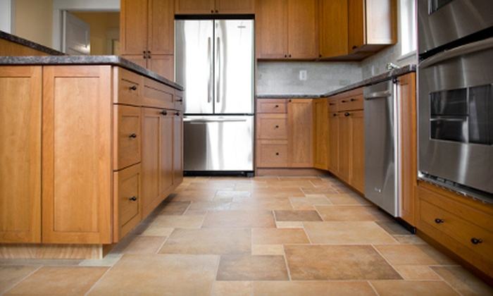 Clean Tile and Carpet  - Core-Columbia: $199 for up to 750 Square Feet of Tile-, Hardwood-, or Stone-Floor Cleaning from Clean Tile and Carpet (Up to $750 Value)
