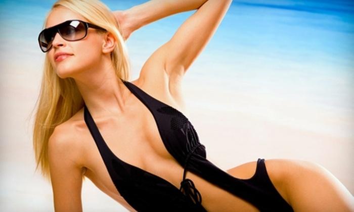Tan It Up - Hollywood Park: $12 for a UV-Free Airbrush Tan at Tan It Up ($30 Value)