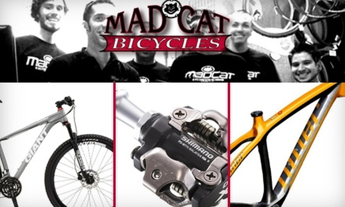 Mad Cat Bicycles - Arden - Arcade: $35 for a Basic Tune-Up at Mad Cat Bicycles ($75 Value)