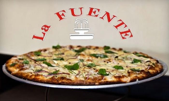 La Fuente - Center City East: $10 for $20 Worth of Pizza and More at La Fuente