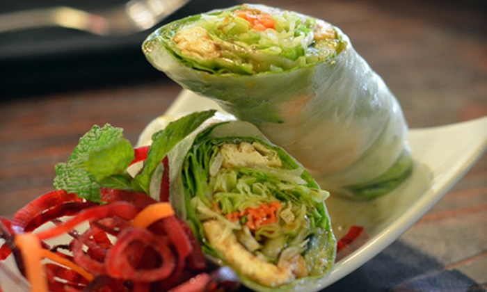 Little Buddha Thai Bistro - Rancho Cordova: Two Thai Wraps or $7 for $15 Worth of Thai Fare at Little Buddha Thai Bistro in Rancho Cordova