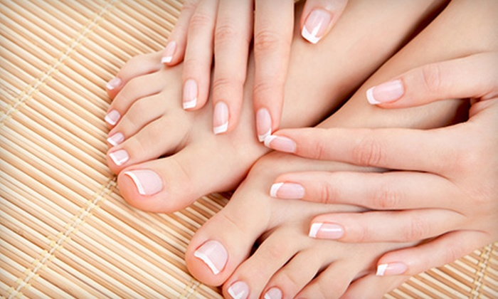 Rejuvenations Day Spa Salon - Clovis: $32 for an Express Mani-Pedi with a Paraffin Treatment at Rejuvenations Day Spa Salon in Clovis ($65 Value)