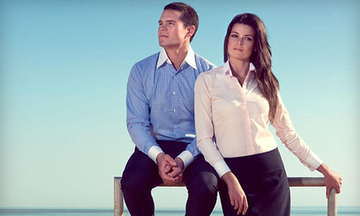 Tailors Mark: One, Two, or Three Custom-Made Men's or Women's Shirts, Including Shipping, from Tailors Mark (Up to 59% Off)