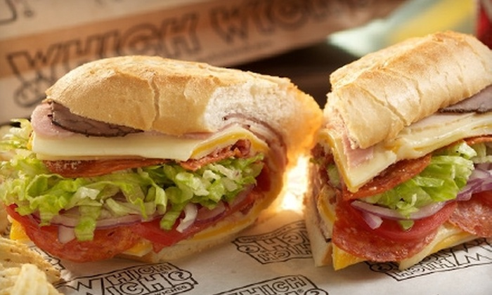 Which Wich - Bossier City: $6 for $12 Worth of Customizable Sandwiches at Which Wich