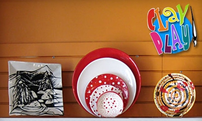 Clay Play - Yarmouth: $10 for $20 Worth of Paint-Your-Own Pottery at Clay Play in Yarmouth