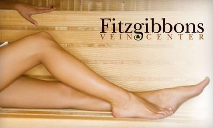 Fitzgibbons Vein Center - Westlake: $160 for Spider Vein Sclerotherapy at Fitzgibbons Vein Center ($400 Value)