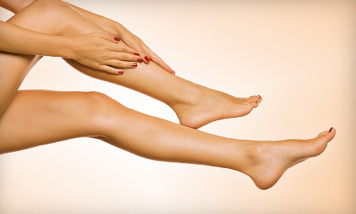 Amoré Laser - Crestview: Six Laser Hair-Removal Sessions on Small, Medium, or Large Area at Amoré Laser (Up to 75% Off)