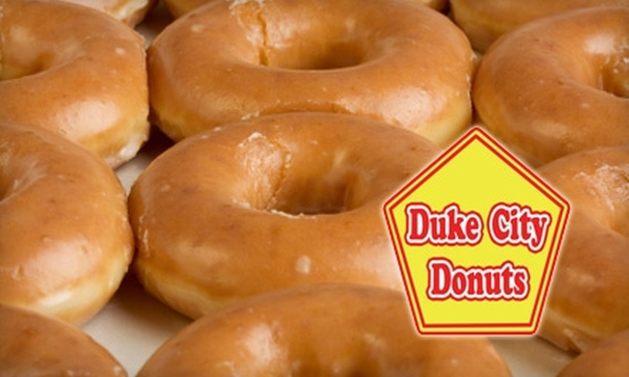 Duke City Donuts - Rackheath Park: $10 for $20 Worth of Donuts, Coffee, and Sweets at Duke City Donuts