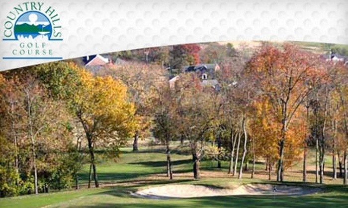Country Hills Golf Course - Hendersonville: $32 for 18 Holes of Golf for Two with a Cart at Country Hills Golf Course in Hendersonville