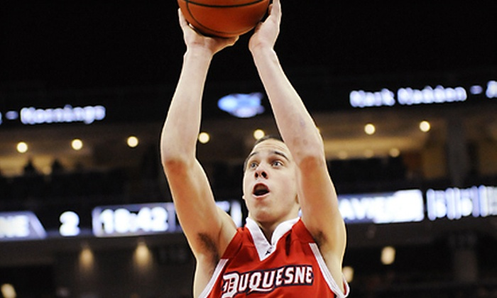 Duquesne Dukes - Bluff: $13 for a Duquesne Dukes Basketball Outing at A.J. Palumbo Center on February 22 at 7 p.m. ($26 Value)