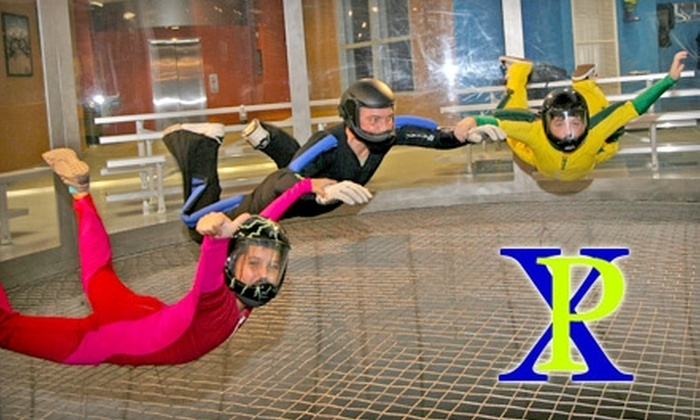Paraclete XP SkyVenture - McLauchlin: $31 for a Two-Minute Indoor Skydiving Package at Paraclete XP SkyVenture in Raeford ($63 Value)