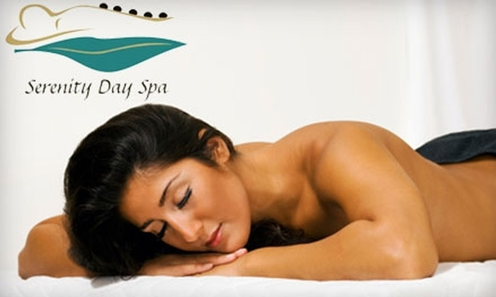 Serenity Day Spa - Flossmoor: $59 for a Heated Siesta Massage at Serenity Day Spa in Flossmoor ($120 Value)