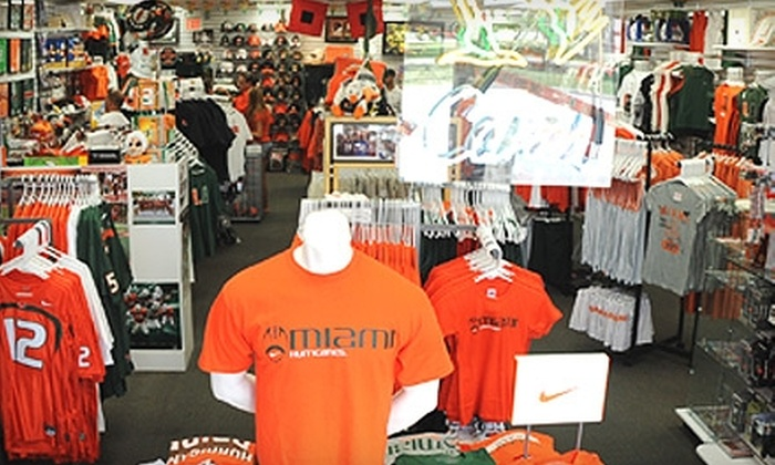 allCanes - Riviera: $15 for $30 Worth of Miami Hurricanes Apparel and Accessories at allCanes in Coral Gables