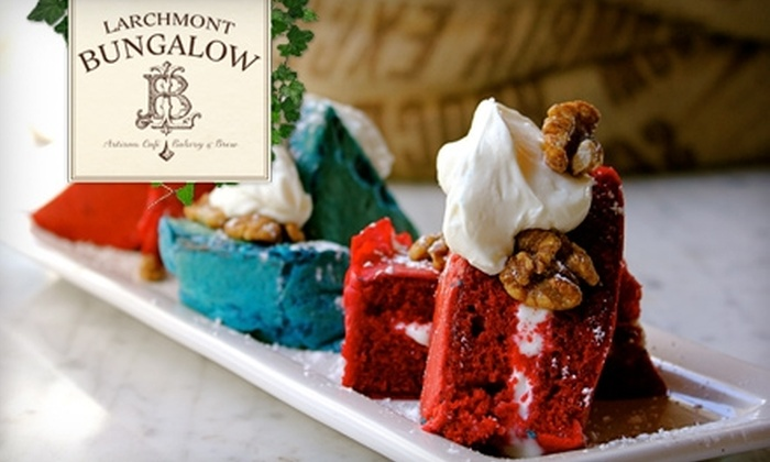 Larchmont Bungalow - Mid-Wilshire: $15 for $30 Worth of Upscale Café Fare and Drinks at Larchmont Bungalow